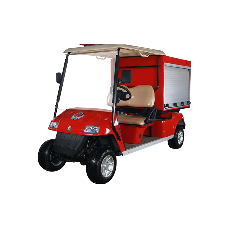 Box Golf Cart